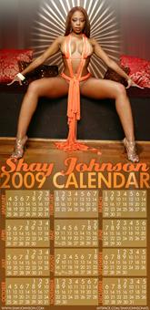 SHAY JOHNSON AKA BUCKEEY 2009 CALENDER
