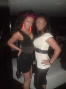 Me and Jen @ Fat joe's party @ Pent House
