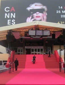 Opening Entrance to Film Festival