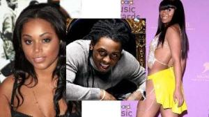 Lil wayne is a lucky man to have two beauty queens having his babies