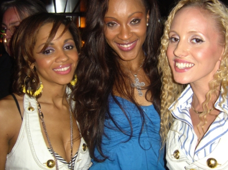 Fresh As Tommi with the lovely Shontelle